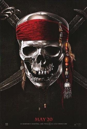 Teaser Poster For Pirates On Stranger Tides