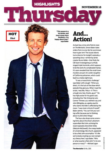 The Mentalist- TV Guide Scan