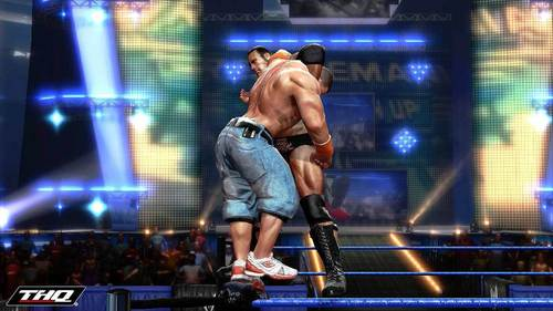 The Rock vs John Cena - wwe Wallpaper