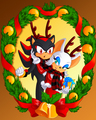 The Ultimate Reindeer - sonic-christmas fan art