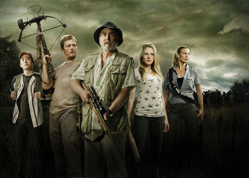 Glenn, Daryl, Dale, Amy & Andrea