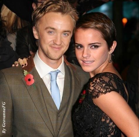 tom felton and emma watson kissing. Tom felton banker images