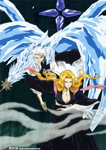 Toshirou and Rangiku