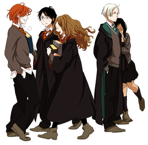 Trio and Draco