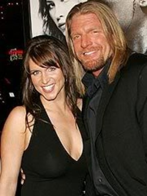 Triple H and his beautiful wife