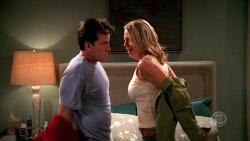 Jeri Ryan Images Two And A Half Men 2x05 Wallpaper And Background Photos 16920463