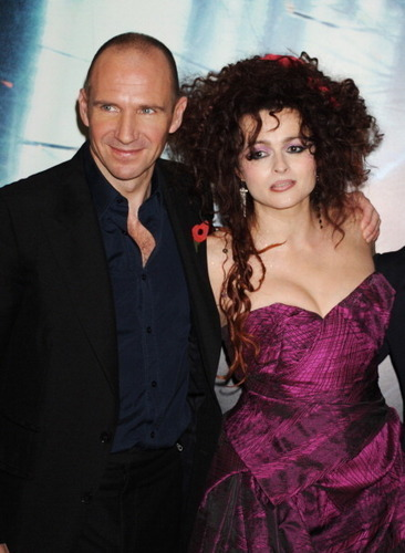 Voldie and Bella - bellatrix-and-lord-voldemort Photo