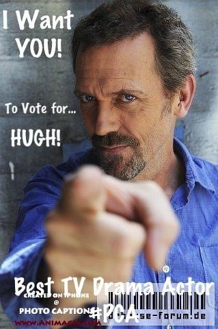 Vote for Hugh!
