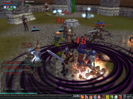 Warlock neutralizing enemies inside the fort
