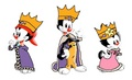 Warner Siblings - Monarchs - animaniacs fan art