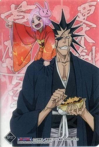 Yachiru and Kenpachi