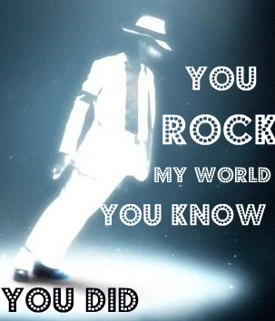 anda Rock My World<3