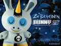 Zebracorn Dunny - vinyl-toys photo