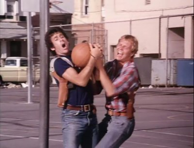 Starsky and Hutch (1975) wallpaper probably with a street titled basketball