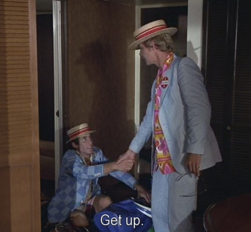 Starsky and Hutch (1975) wallpaper containing a boater, a fedora, and a campaign hat called get up