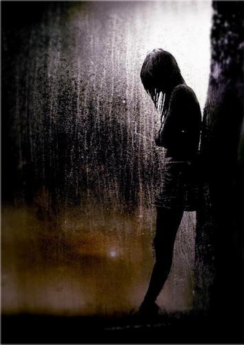 girl and the rain - sad-songs Photo