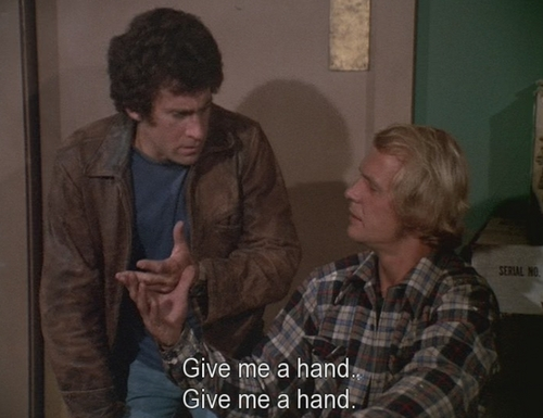 Starsky and Hutch (1975) Обои titled give me a hand