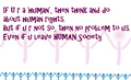 human rights - it includes wewe too.