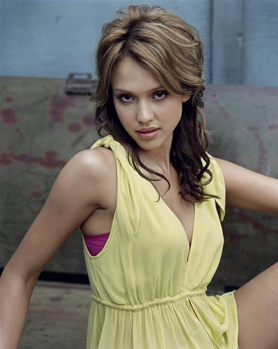 jessica alba wallpaper possibly containing a koktil, koktail dress and a portrait entitled jessica alba new HQ photoshoot