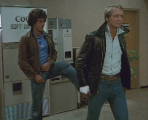 Starsky and Hutch (1975) wallpaper with a business suit and a well dressed person called kick