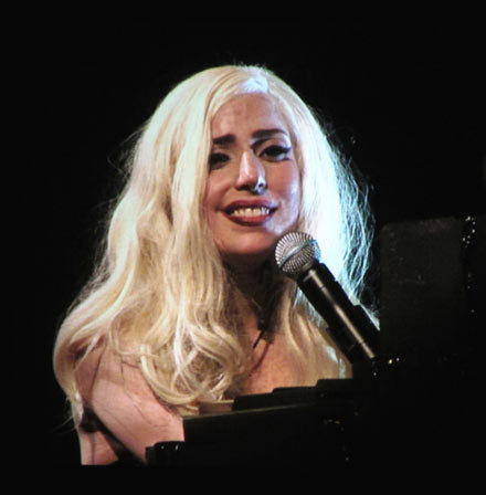 lady gaga crying