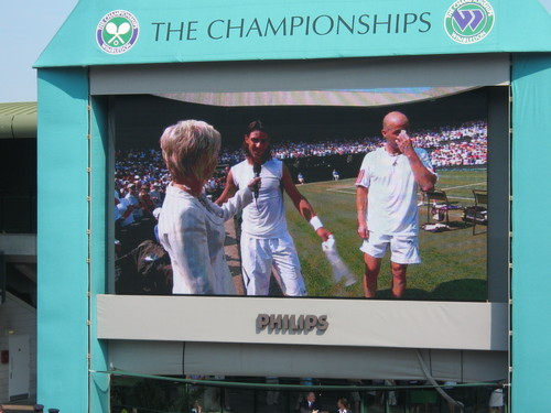 nadal and agassi wimbledon