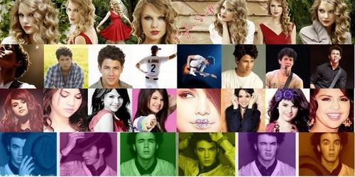 disney Channel Stars fondo de pantalla entitled nick_taylor_selena_kiven <3