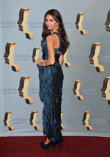nina at 25th Annual Gemini Awards Gala 11-13-2010