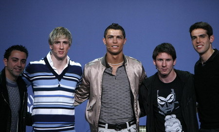 ronaldo n other players