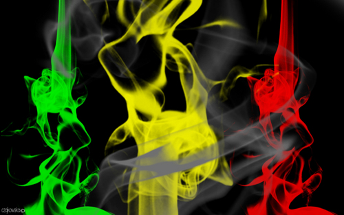 Marijuana wallpaper possibly with a fire titled weed