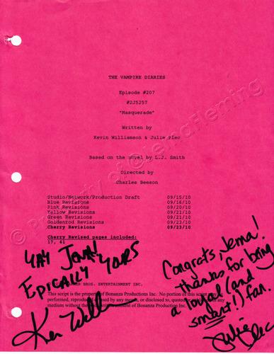 *A page of their magic script!!*