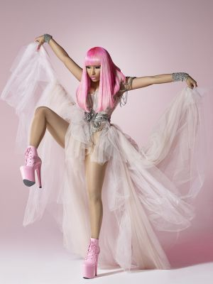 nicki minaj pink friday album cover. tattoo Nicki Minaj Pink Friday