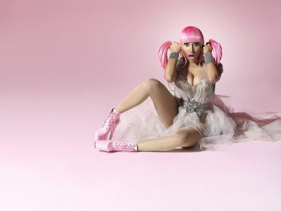 nicki minaj pink friday album cover dress. Nicki Minaj Pink Friday Album
