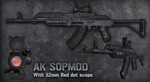 AK sopmod - guns Photo