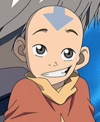 Avatar – Der Herr der Elemente Hintergrund with Anime entitled Aang