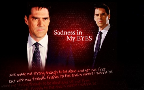 SSA Aaron Hotchner achtergrond with a business suit, a suit, and a three piece suit called Aaron Hotchner