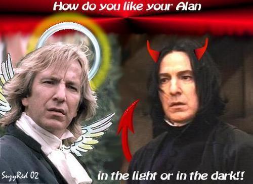 Alan Rickman- Evil au Angel