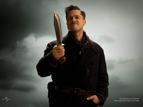 Inglourious Basterds wolpeyper called Aldo Raine