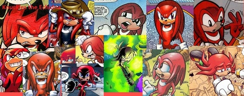 Archie Knuckles Collage