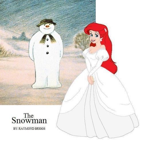 Ariel and The Snowman <3