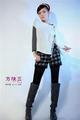 Asian fashion stylish fall dress