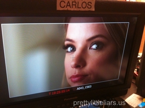 BTS of 1x15 If At First te Don't Suceed, Lie, Lie Again