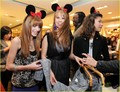 Bella Thorne,Zendaya Coleman,And Debby Ryan At The Minnie tetikus Muse Collection Launch At Forever 21