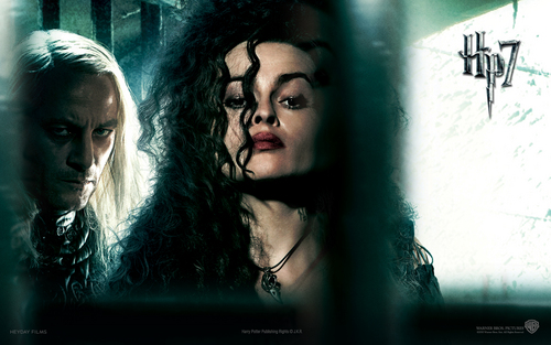 Bellatrix DH - bellatrix-lestrange Wallpaper