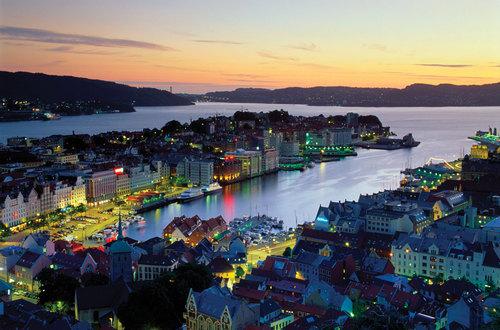 Bergen in Norway ♥