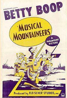 Betty Boop the Boop Oop a Doop girl