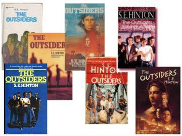 The Outsiders wallpaper containing anime entitled Book Covers