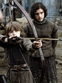 Bran Stark & Jon Snow - game-of-thrones photo