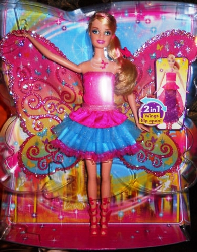 Brand New búp bê barbie A Fairy Secret Transforming Doll