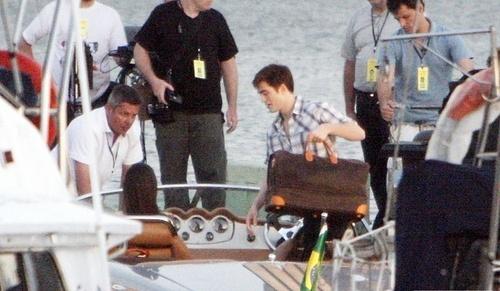 Breaking Dawn Official Pier Scene